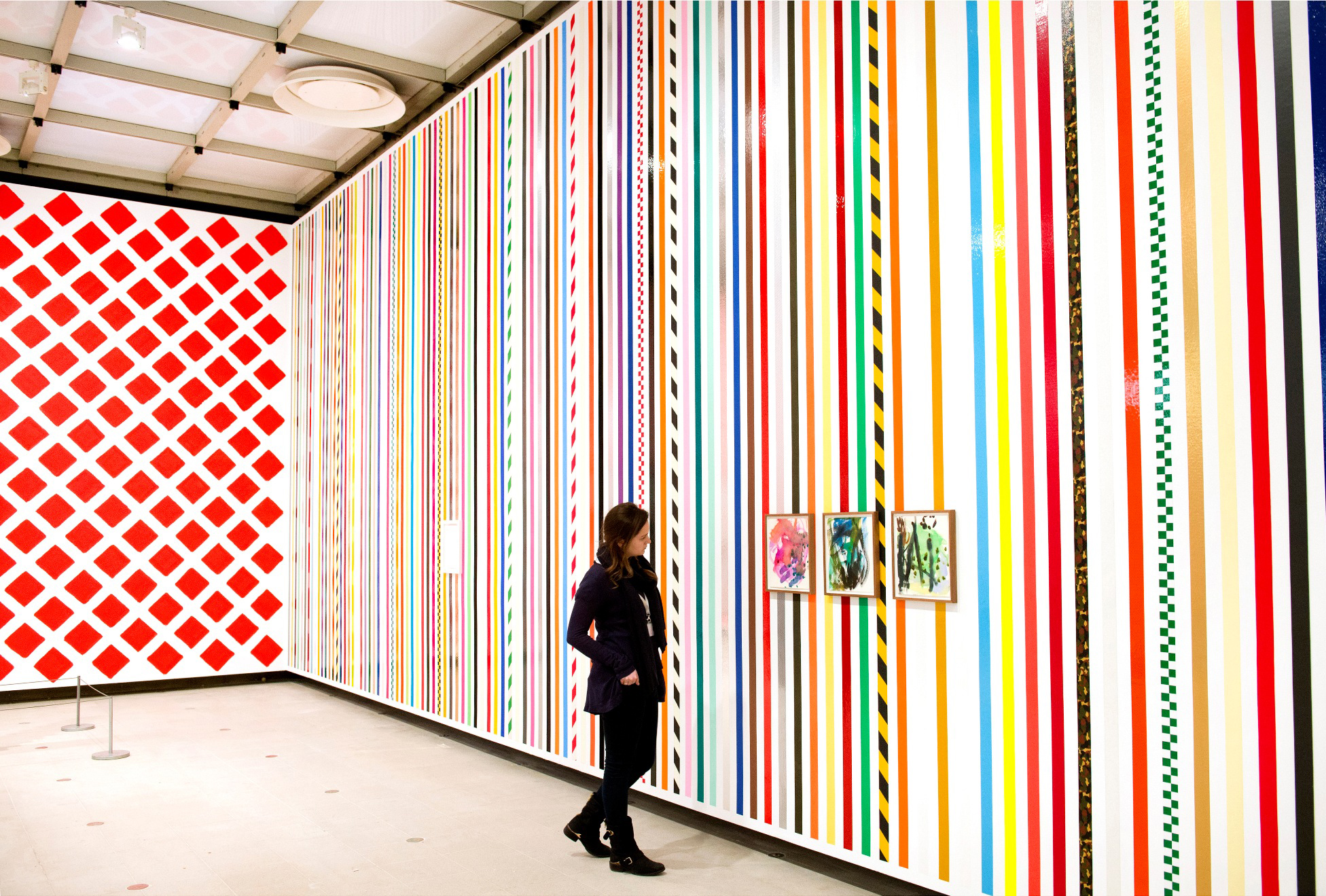 Martin Creed, Hayward Gallery, vue de l'exposition. Photo de Linda Nylind.